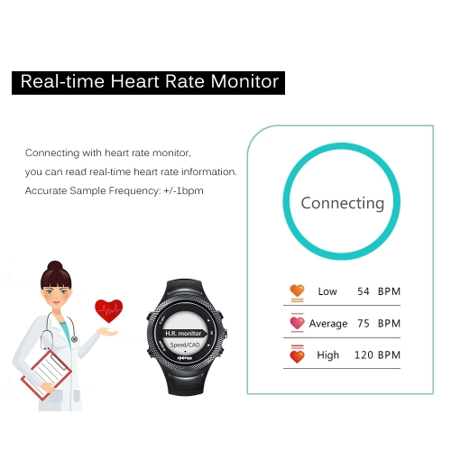 GPS Outdoor Digital Running Sports Watch