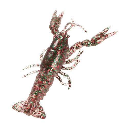 Lixada 12cm/19g Soft Crawfish Shrimp Lobster Claw Bait Artificial Lure Bait Swimbait Image