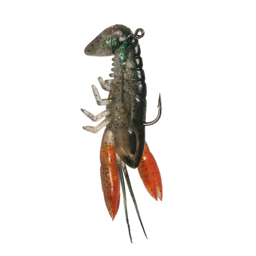 Lixada 8cm / 14g Soft Crawfish Shrimp Lobster Claw Bait Artificial Lure Bait Swimbait