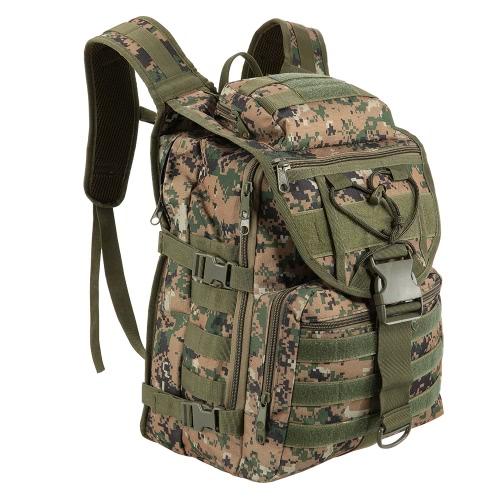 Lixada 40L Backpack Gear Backpack Daypack Pack Borsa Utility resistente all'acqua di grande capacità per la caccia al Camping Trekking