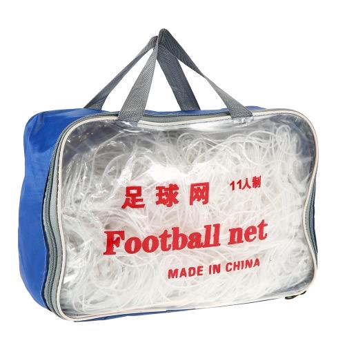 2PCS Soccer Goal 5/7/11 Лицо футбола Чистая цель Почтовая сеть для тренировки Матч по футболу Практическая футбольная сетка с сумкой для переноски