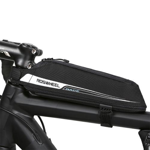 Image of Fahrrad radfahren oberrohr tasche vorne fream tasche tragbare radfahren vorder tasche fahrrad aufbewahrungstasche