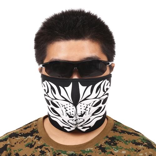 Máscara respirável Meia máscara Escudo Máscara para ciclismo Alpinismo Esqui Esportes ao ar livre