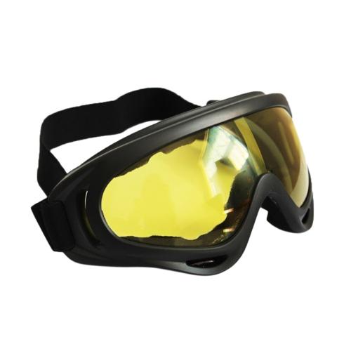 Parabrezza esterno motocross moto dirt bike sci off road atv occhiali sportivi occhiali eyewear x400 anti-vento e sabbia fan attrezzatura tattica