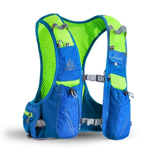 AONIJIE Hydration Pack mochila vejiga de agua chaleco con 2 BPA botella de agua suave gratis para correr senderismo ciclismo escalada acampar
