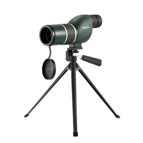 12-36x50 Dritto / angolato Cannocchiale con treppiede Portamonete portatile Monoculare Telescopio con treppiede Custodia per Bird Watching Campeggio Backpacking