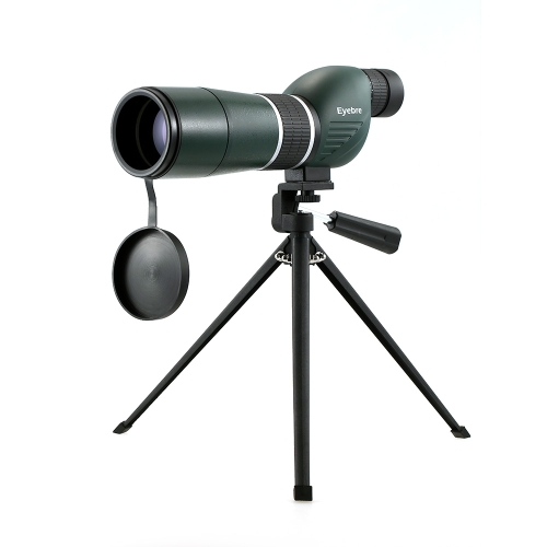 15-45x60 Alcance de medición recto / en ángulo con trípode Alcance de viaje portátil Telescopio monocular con estuche de transporte para observación de aves Camping Backpacking