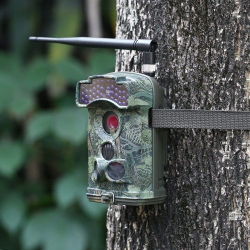 12MP 1080P Wireless MMS / SMTP / FTP 3G Trail Camera Hunting Game Camera Outdoor Wildlife Scouting Camera with 3 PIR Sensors Infra thumbnail