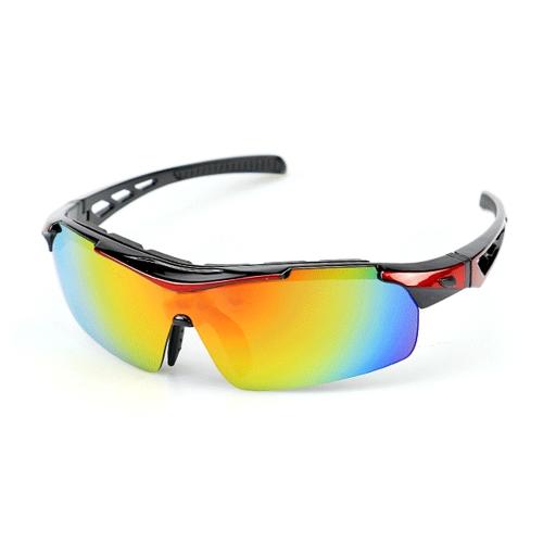 XS003 UV400 Polarized Велоспорт Солнцезащитные очки с 5 сменными объективами