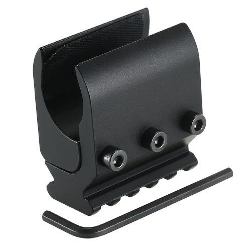 Adaptador de base de raíl de 20 mm Caza Riflescope Convertidor de visión Base de montaje de linterna