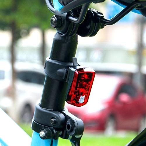 Wiederaufladbare Fahrrad Licht Radfahren Fahrrad Lampe Rücklicht Sicherheit rot Warnlicht Fahrrad Hinten Taschenlampe
