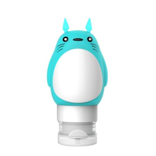 Bottiglia ricaricabile a forma di animale da viaggio a forma di bottiglia ricaricabile Set di bottiglie in silicone squeezable