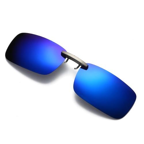 Bezramkowy spolaryzowany klips na okulary przeciwsłoneczne UV400
