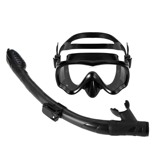 Lixada Kids Scuba Diving Mask Tube Set Snorkeling Mask Goggles Glasses Diving Swimming Easy Breath Dry Snorkel
