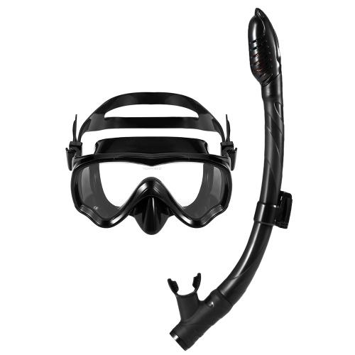Lixada Kids Scuba Diving Mask Tube Set Máscara de snorkel Gafas Gafas Buceo Natación Respiración fácil Snorkel seco