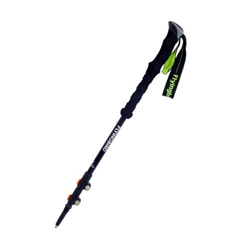Bastone da trekking regolabile in fibra di carbonio con impugnatura in EVA e lucchetto anti-torsione per escursioni a piedi
