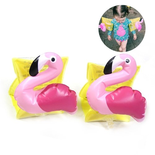 2 PCS Kids Swimming Arm Ring Inflatable Swim Armlets Arm Floater Sleeves