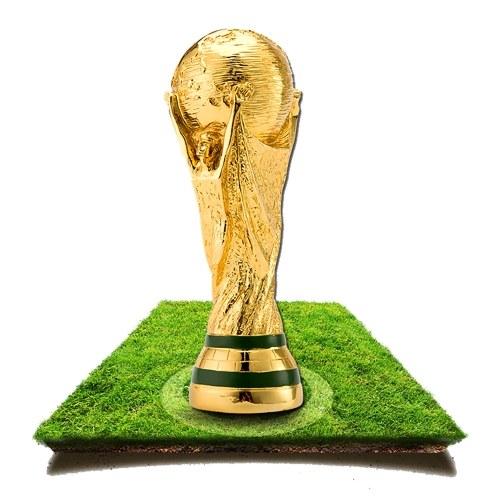 2018 Football World Cup Resinous Handicraft Award Trophy