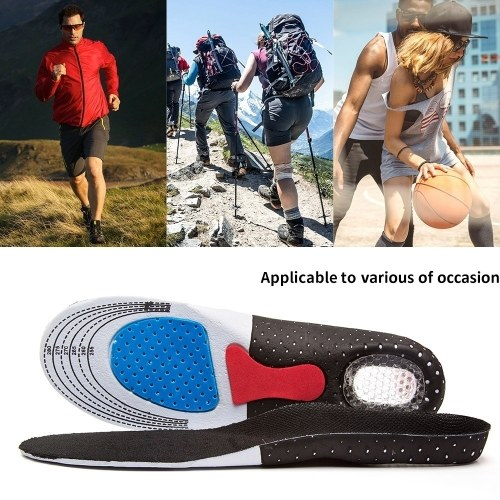 Orthopedic Foot Arch Support Sport Shoe Pad Running Gel Insoles