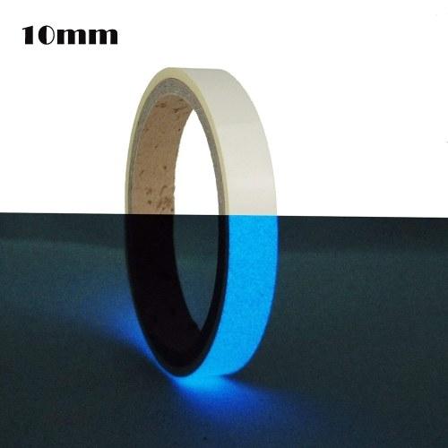 10ft Glow In Dark Dekorative PET Band Abnehmbare DIY Handgemachte Photoluminescent Leuchtende Dekor Bänder