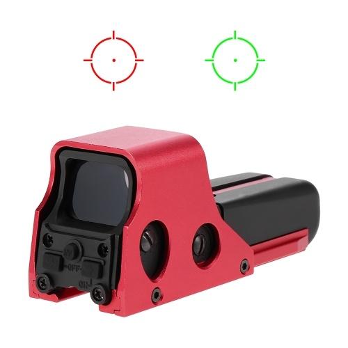 الأحمر والأخضر دوت riflescope ريفلكس البصر الصيد نطاق الأحمر والأخضر دوت البصر أهداف 22 ملليمتر الحديدية جبل