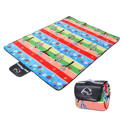 Outdoor Picnic Mat Portable Waterproof Plaid Blanket