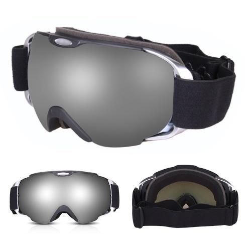 OGT Gogle narciarskie Double Layers Anti-fog Ochrona przed promieniowaniem UV Gogle narciarskie