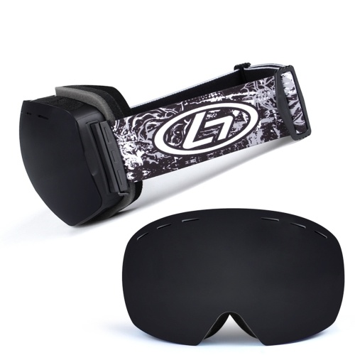 Anti-fogging Gogle narciarskie Okulary ochronne UV400