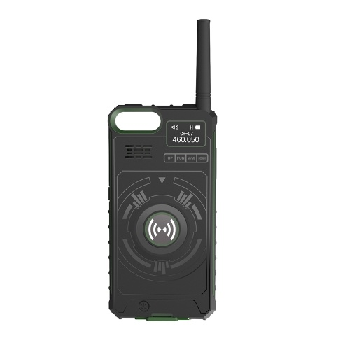 DTNO.I Pratico 3 in 1 IP01 Outdoor Walkie Talkie Cassa del telefono per iPhone
