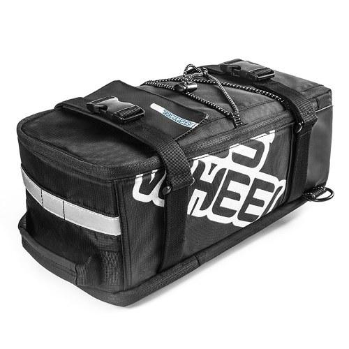 Multifunctional Cycling Bicycle Bike Rear Seat Trunk Bag Image