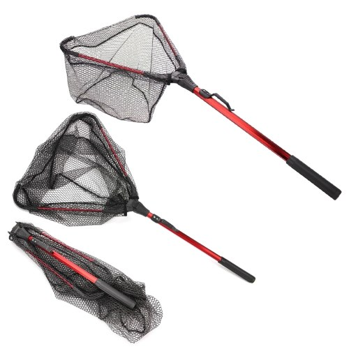 Collapsible Fish Landing Net Fishing Net for Fish Catching or Releasing Image