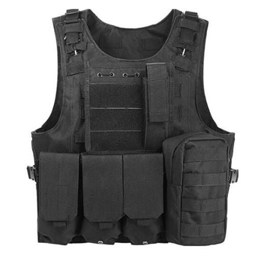 Multi-functional Breathable Vest Outdoor Quick Disassembly CS Field Protections Vest Training Equipment