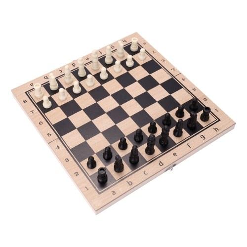 Costume pliant trois-en-un échiquier d'échecs costume de jeu de backgammon jeu d'échecs jeu de société