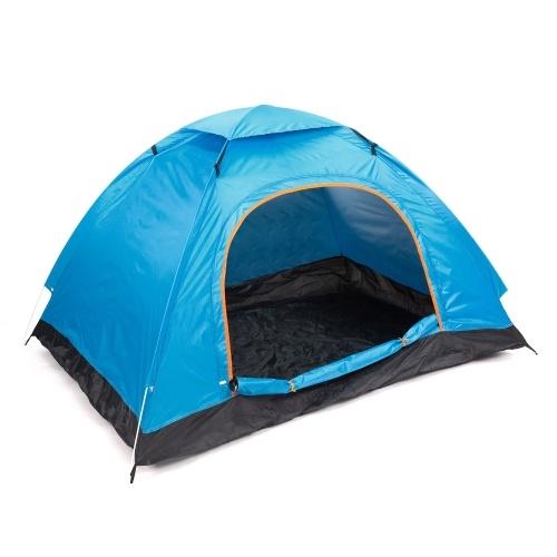 Tenda pop-up para 2 pessoas Tendas de acampamento dobráveis com bolsa de transporte Fácil configuração para fins de semana ao ar livre