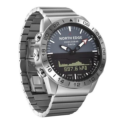 Men Sports Digital Analog Watch Diving Watch