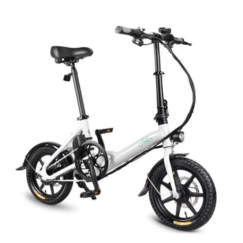 FIIDO D3 14 Inch Folding Power Assist Eletric Bicycle