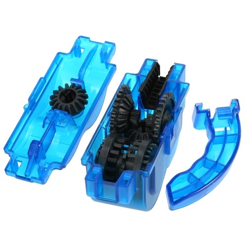 Portable Bicycle Chain Cleaner Mountain Bike MTB Road Bike Cycling Chain Cleaning Tool Image