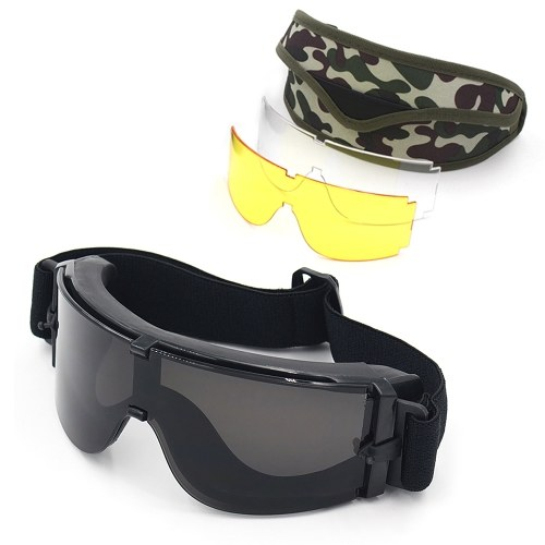 Outdoor Tactical Eyewear UV400 Protective Goggles