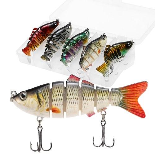 5pcs conjunto de iscas de pesca