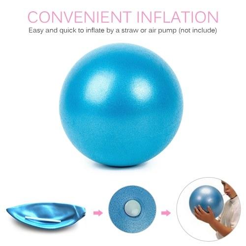25 см 2 шт. Йога мяч анти-взрыв толстая стабильность мяч мини пилатес барре физический мяч фото