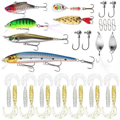 18pcs Fishing Lures Kit