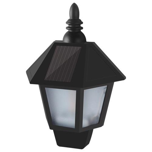 Outdoor Water Resistant Wall Lantern Lightweight Solar Lamp Wirless Motion Sensor Lights LED for Gar