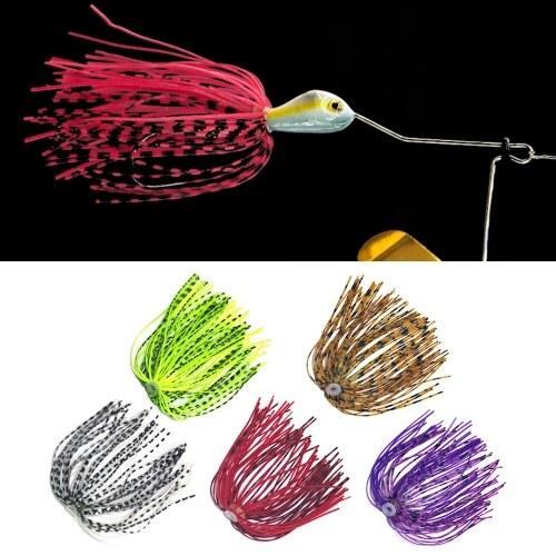 5 PCS 13cm Jig Skirt Silicone Skirts Rubber Skirts Fishing Skirt Baits Fishing Lure For Spinnerbaits Buzzbaits thumbnail