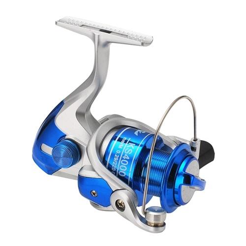 Bobina de pesca de roda de pesca giratória