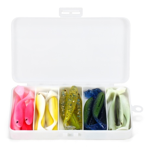 Artificial Soft Fishing Lure Image