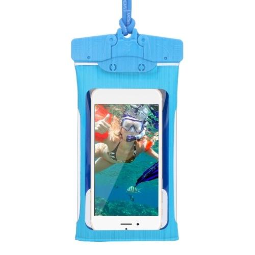IPX8 Мобильный телефон Водонепроницаемая сумка Прозрачный ТПУ Водонепроницаемый чехол для телефона Сухой мешок фото