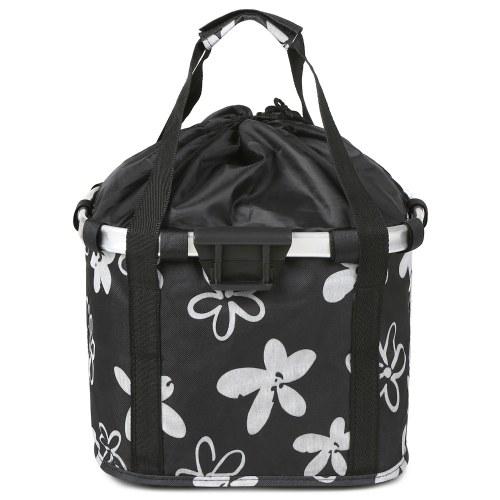 Folding Bike Basket Small Pet Cat Dog Carrier Bag Image