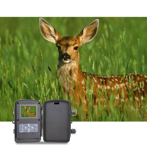 Portatile della fauna selvatica caccia fotocamera 12MP HD digitale infrarossi Scouting Trail fotocamera 940nm IR LED visione notturna registratore Video