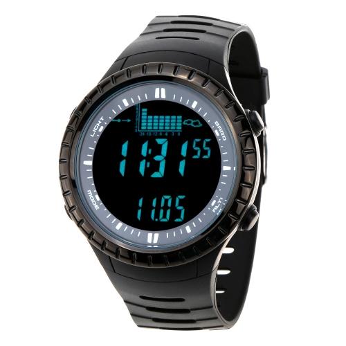 Spovan 5ATM водонепроницаемый открытый рыбалка смотреть альтиметр барометр термометр многофункциональный цифровой наручные часы
