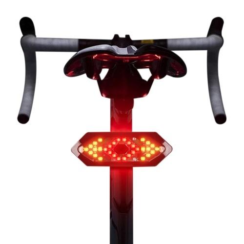 Bike Tail Light Bicycle Turning Light USB Rechargeable Bike LED Warning Light for Mountain Road Bike